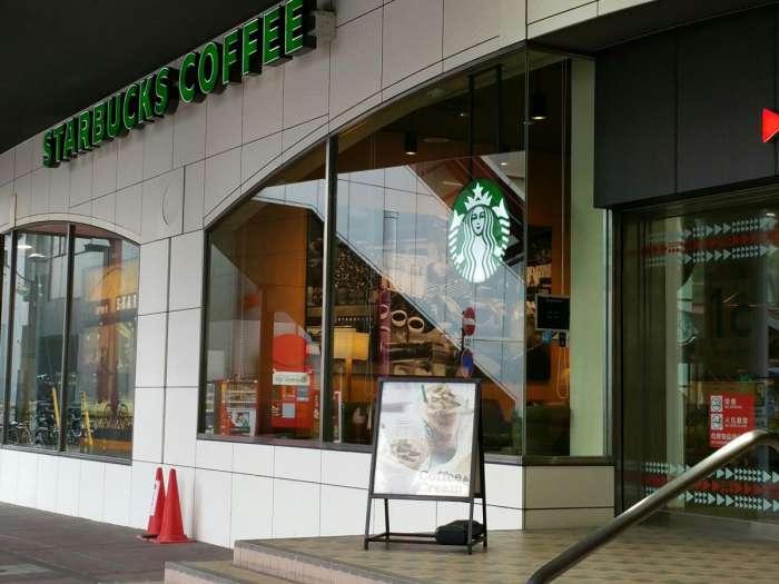 香川×愛人待ち合わせスポット①:スターバックス・コーヒー 高松瓦町駅店