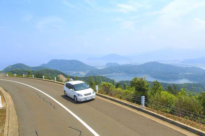 福井×愛人デートスポット⑤:三方五湖有料道路レインボーライン