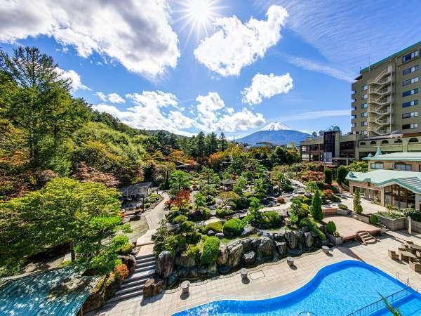山梨×愛人デートスポット③:庭園と感動の宿 富士山温泉 ホテル鐘山苑