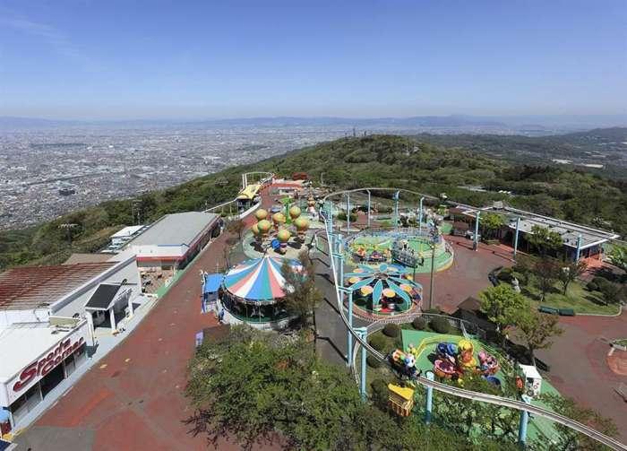 奈良×愛人デートスポット⑤:生駒山上遊園地