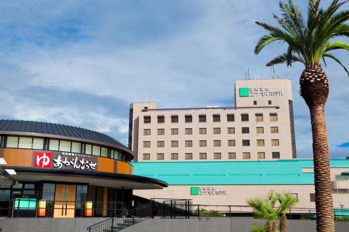 熊本×愛人デートスポット④:菊南温泉ユウベルホテル