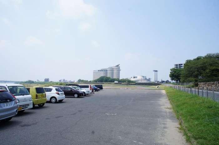 岐阜×愛人待ち合わせスポット④:長良丘駐車場