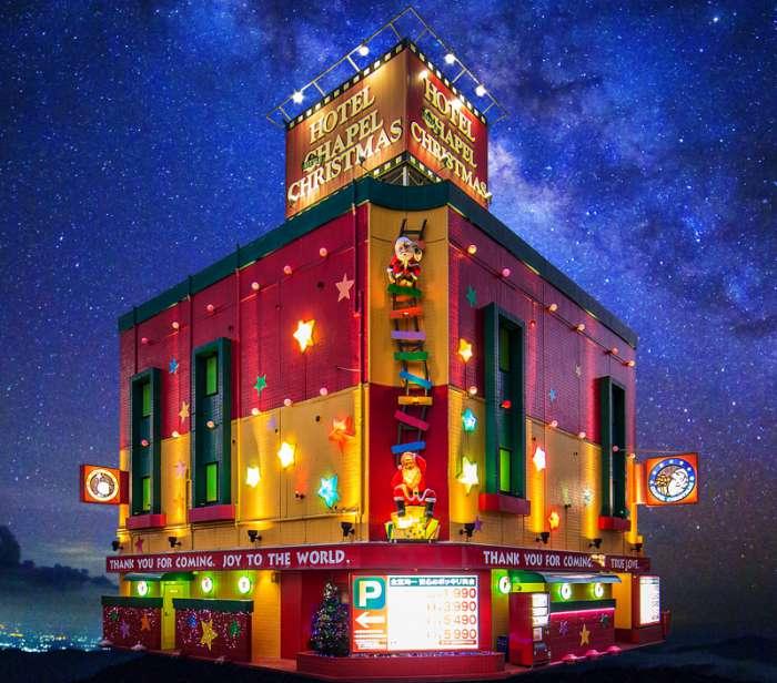 和歌山×愛人おすすめラブホ④:HOTEL LITTLE CHAPEL CHRISTMAS